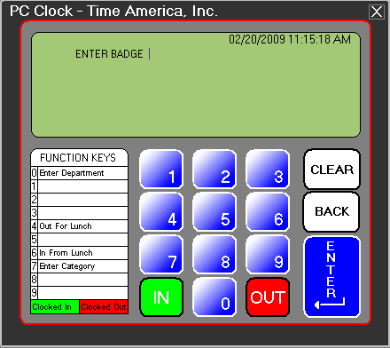 Synel America PC Clock Software