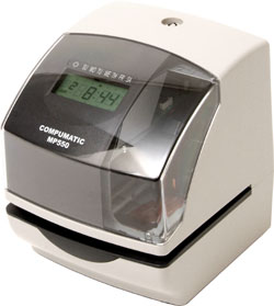 Compumatic Mp550 Electric Time Clock